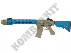 CM518 Electric Airsoft Rifle SAI AR15 Replica AEG BB Machine Gun Alloy Gear Box Tan & 2 Tone